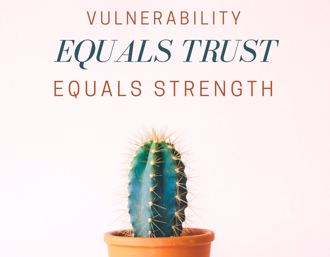 Why being vulnerable is a sign of strength